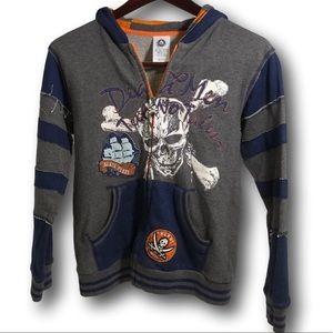 Disney Pirates of the Caribbean hoodie like new